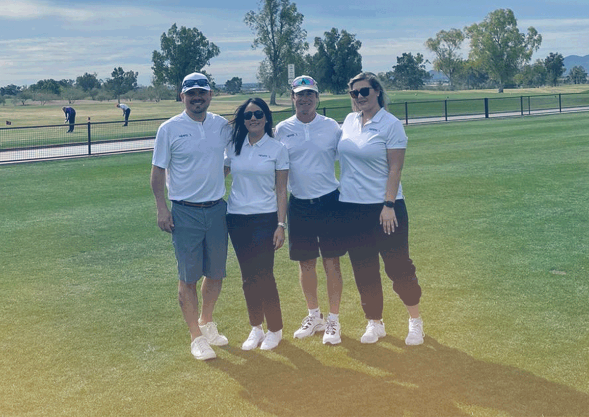Golfing Fore Child ExecutiveTeam